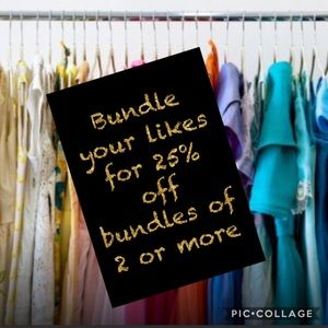 Denim - Bundle your likes and I will send you a offer